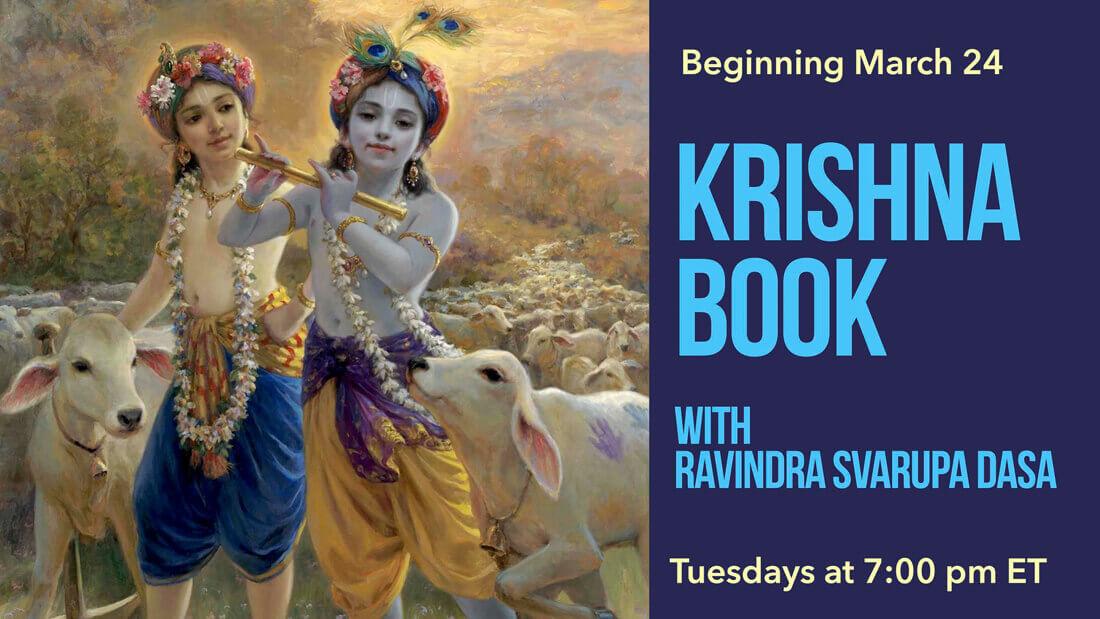 Reading of Krishna Book with Ravindra Svarupa dasa
